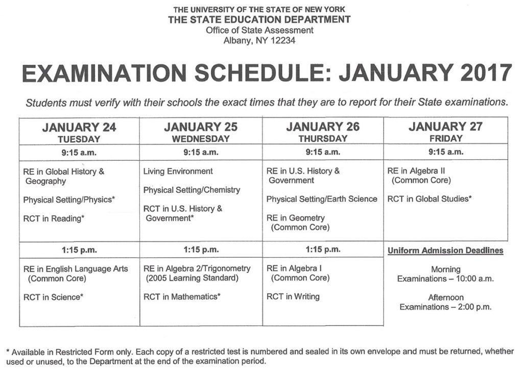 rgentsexamjan2017-schedule